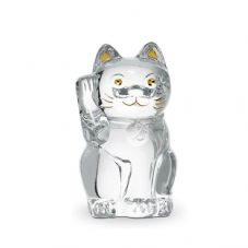 Baccarat Cat Maneki-neko - Available in a variety of colours